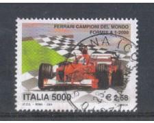2001 - LOTTO/7308U - REPUBBLICA - FERRARI CAMPIONE - USATO