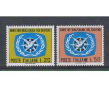1967 - LOTTO/6474 - REPUBBLICA - ANNO DEL TURISMO