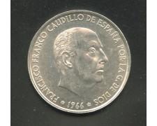 1966 - LOTTO/M12439 - SPAGNA - 100 PESETAS ARGENTO