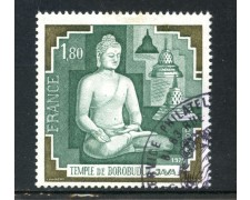 1979 - LOTTO/22638U - FRANCIA - TEMPIO DI BOROBUDUR - USATO