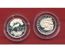 1994 - LOTTO/M23285 - REPUBBLICA - 1000 LIRE FLORA E FAUNA ARGENTO