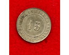 1848 - VENEZIA - 15 CENTESIMI GOVERNO PROVVISORIO - LOTTO/M25461
