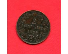 1898 - REGNO D'ITALIA - 2 cent. UMBERTO I° - LOTTO/M25580