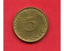 1950 G - GERMANIA FEDERALE - 5 PFENNIG - LOTTO/M28172