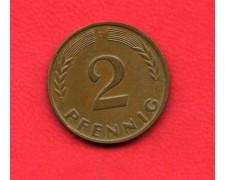 1950 D - GERMANIA FEDERALE - 2 PFENNIG - LOTTO/M28177