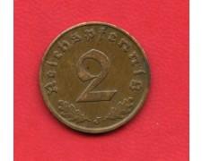 1937 J - GERMANIA REICH - 2 REICHSPEFENNIG - LOTTO/M28178