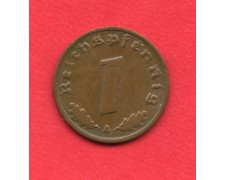 1937 A - GERMANIA REICH -  REICHSPEFENNIG - LOTTO/M28180