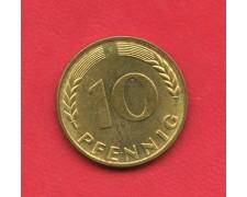 1950 F - GERMANIA FEDERALE - 10 PFENNIG - LOTTO/M28186