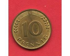 1950 G - GERMANIA FEDERALE - 10 PFENNIG - LOTTO/M28187