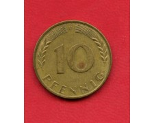 1968 D - GERMANIA FEDERALE - 10 PFENNIG - LOTTO/M28189