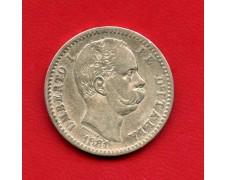 1881 - REGNO - 2 LIRE ARGENTO RE UMBERTO I° - LOTTO/M29478