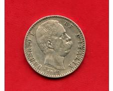 1882 - REGNO - 2 LIRE ARGENTO RE UMBERTO I° - LOTTO/M29480