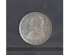 1868 - MON/STP389 - STATO PONTIFICIO - 10 SOLDI ARGENTO