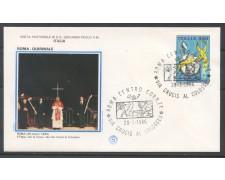 1986 - REPUBBLICA - BUSTA -  PAPA GIOVANNI PAOLO II° VIA CRUCIS AL COLOSSEO - LOTTO/31744