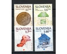 1993 - SLOVENIA - PATRIMONIO CULTURALE  4v.  - NUOVI - LOTTO/33668