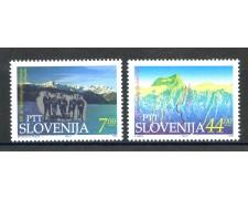 1993 - SLOVENIA - CENTENARIO CLUB ALPINO 2v. - NUOVI - LOTTO/33669