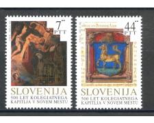 1993 - SLOVENIA - CENTENARIO DI NOVO MESTO 2v. - NUOVI - LOTTO/33671