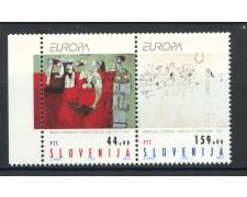 1993 - SLOVENIA - EUROPA ARTE 2v. - NUOVI - LOTTO/33672