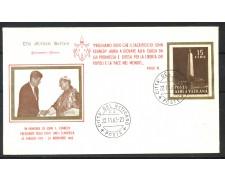 1963 - VATICANO - BUSTA CON ANNULLO DEL GIORNO DELLA MORTE DI JOHN F. KENNEDY - LOTTO/31759
