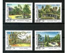 1997 - REPUBBLICA - GIARDINI STORICI PUBBLICI 4v. - NUOVI - LOTTO/7156
