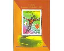 2001 - LOTTO/7325FO - REPUBBLICA - SCUDETTO ROMA - FOLDER