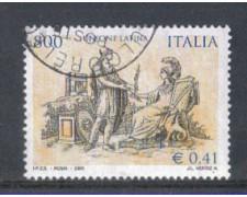 2001 - LOTTO/7336U - REPUBBLICA - UNIONE LATINA - USATO
