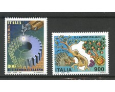 1997 - REPUBBLICA - LAVORO INDUSTRIA E AGRICOLTURA 2v. - NUOVI - LOTTO/7157