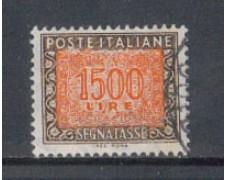 1991 - LOTTO/6977U - REPUBBLICA - 1500 LIRE SEGNATASSE - USATO