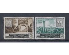 1959 - LOTTO/7861 - SAN MARINO - FRANCOBOLLI ROMAGNE 2v. NUOVI