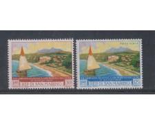 1960 - LOTTO/7867 - SAN MARINO - GIORNATA  FILATELICA 2v. NUOVI