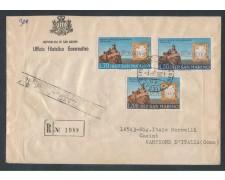 1961 - LOTTO/7872Z - SAN MARINO - MOSTRA RISORGIMENTO - FDC