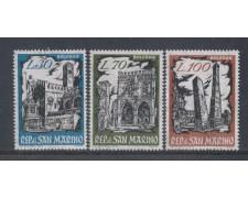 1961 - LOTTO/7873 - SAN MARINO - BOPHILEX 3v. NUOVI