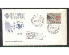 1962 - LOTTO/7878Z - SAN MARINO - EUROPA - FDC