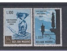 1963 - LOTTO/7882 - SAN MARINO - GIORNATA FILATELICA