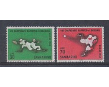 1964 - LOTTO/7891 - SAN MARINO - BASEBALL