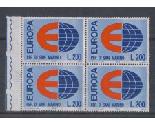 1964 - LOTTO/7892Q - SAN MARINO - EUROPA - QUARTINA