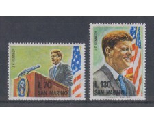 1964 - LOTTO/7893 - SAN MARINO - J.F.KENNEDY