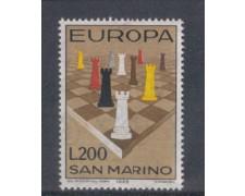 1965 - LOTTO/7897 - SAN MARINO - EUROPA - SCACCHI
