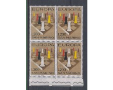 1965 - LOTTO/7897Q - SAN MARINO - EUROPA - QUARTINA