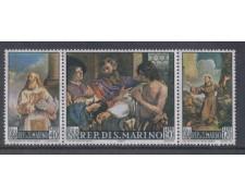1967 - LOTTO/7907 - SAN MARINO - DIPINTI DEL GUERCINO