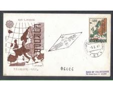1967 - LOTTO/7908Z - SAN MARINO - EUROPA - FDC
