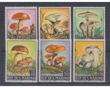 1967 - LOTTO/7909 - SAN MARINO - FUNGHI