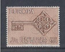1968 - LOTTO/7913 - SAN MARINO - EUROPA