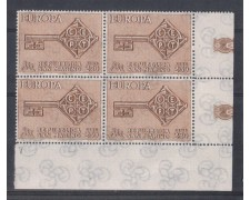 1968 - LOTTO/7913Q - SAN MARINO - EUROPA - QUARTINA