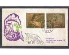 1969 - LOTTO/7917Z - SAN MARINO - BRAMANTE - FDC