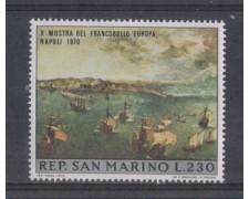 1970 - LOTTO/7923 - SAN MARINO - MOSTRA DEL FRANCOBOLLO