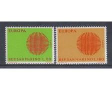 1970 - LOTTO/7924 - SAN MARINO - EUROPA