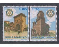 1970 - LOTTO/7925 - SAN MARINO - ROTARY