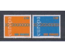 1971 - LOTTO/7929 - SAN MARINO - EUROPA 2V. - NUOVI