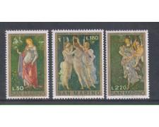 1972 - LOTTO/7933 - SAN MARINO - ALLEGORIA DI PRIMAVERA